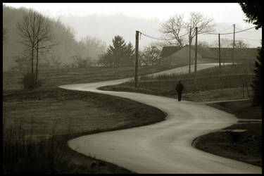 THE LONG AND WINDING .... by okramzg