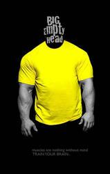 BIG EMPTY HEAD by cancera3