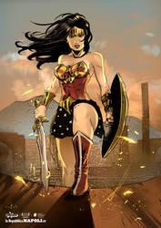 Tributo Wonder Woman - Stampe d'Autore #12 by GGSTUDIO