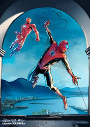 Tributo SpiderMan - Stampe d'Autore #14 by GGSTUDIO