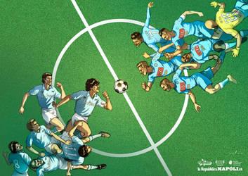 NAPOLI 1987 vs NAPOLI 2017 - Stampe d'Autore #15 by GGSTUDIO