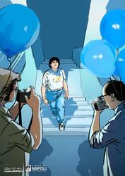 Maradona Napoletano - Stampe d'Autore #16 by GGSTUDIO