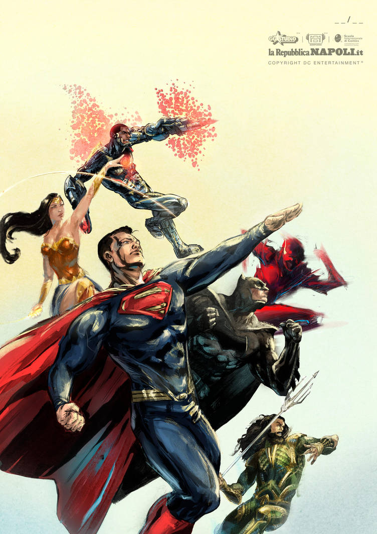 Tributo Justice League - Stampe d'Autore #19 by GGSTUDIO