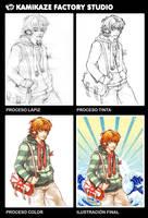 Procesos Otaku Expression VLC by kamikazefactory
