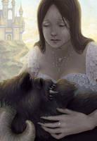 Beauty and the Beast by keshi-shiro