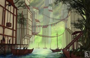 Prosperous Forest by VonStreff