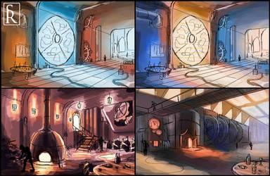 Engine Room Concepts by VonStreff