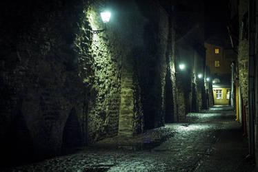 Tallin Old City by erynrandir