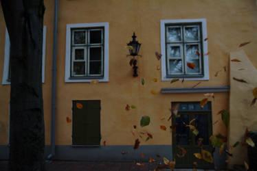 Autumn in Tallinn by erynrandir