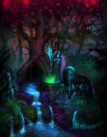 The Mystic Gardener by Sverrirorz