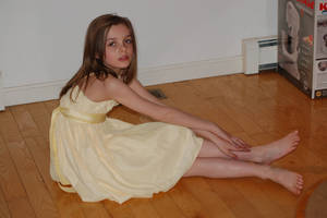 Girl In Yellow Dress 31 by WITCHCRAFTY-STOCK