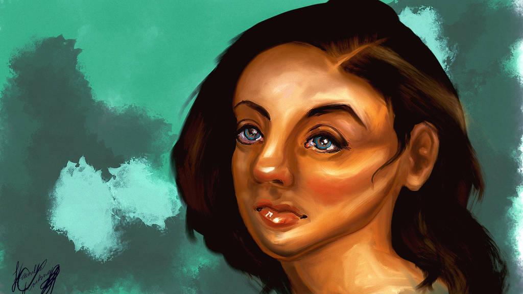 Self Portrait by Kvdoglover