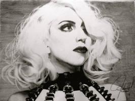 Lady Gaga Portrait by ParaguayDraw