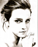 Emma Watson portrait by ParaguayDraw