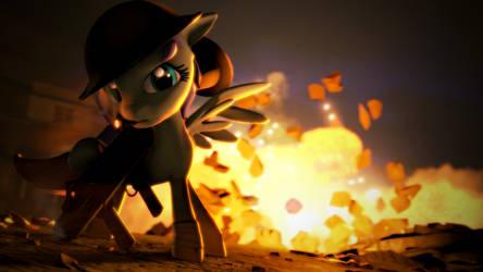 Fluttershy Makes the Boom by argodaemon
