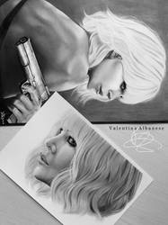 Atomic Blonde by ValeAlbanese