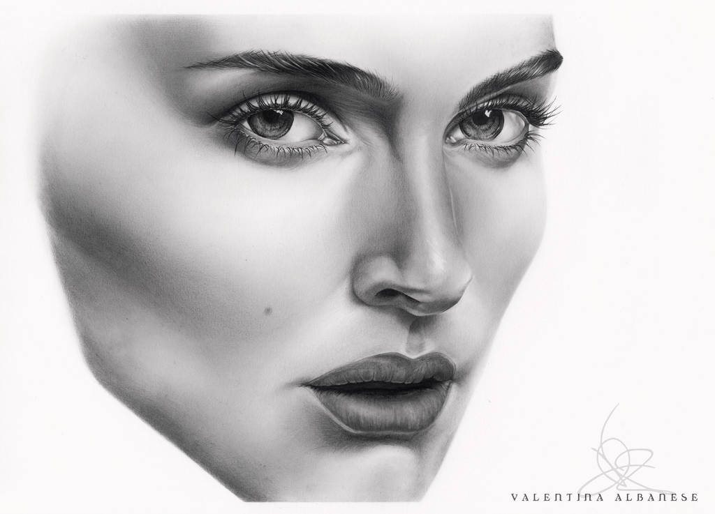 Natalie Portman Drawing  by ValeAlbanese