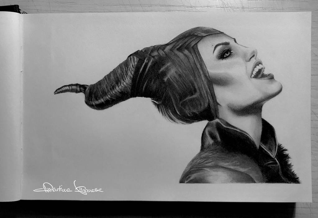 Maleficent  by ValeAlbanese