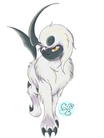 Sunder the Absol by CascadeButterfly