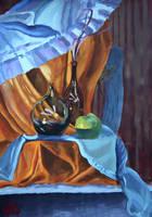 Blue and orange by KonaRos