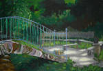 Bridge to the forest by KonaRos