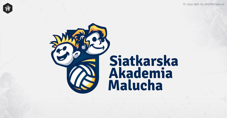 Volleyball Children Academy - logo by KonaRos