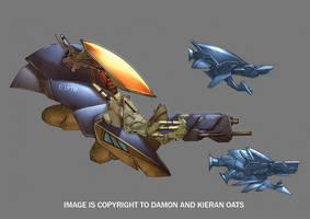Enforcer gun platform design by kieranoats
