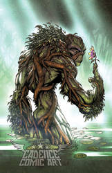 Swamp thing by kieranoats