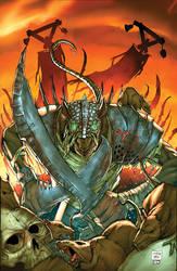 Warhammer Skaven Cover by kieranoats