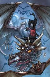 Warhammer Vampire Cover by kieranoats