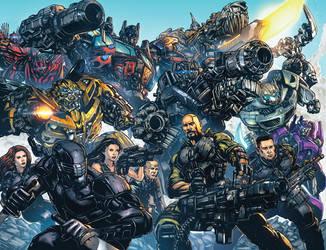 Transformers GIJoe colors by kieranoats
