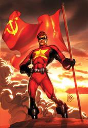 Comrade Hero Commission by kieranoats