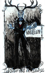 Inktober 12 - William by Arkanth