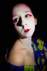 Geisha Creative SelfPortrait by CaitsPerfectIllusion