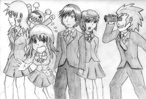 Concept Art: The Protagonists by DonZatch