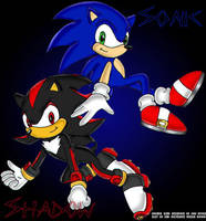 Sonic and Shadow by pinknikki