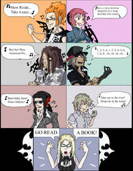 Reapers' Ipods TWEWY by PharoahArch