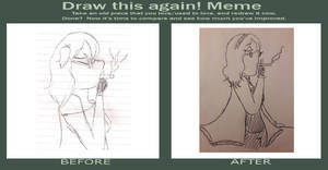 Before and after meme DONE! (11) by Anime-girl-dreams