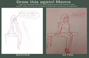 Before and after meme DONE! (12) by Anime-girl-dreams