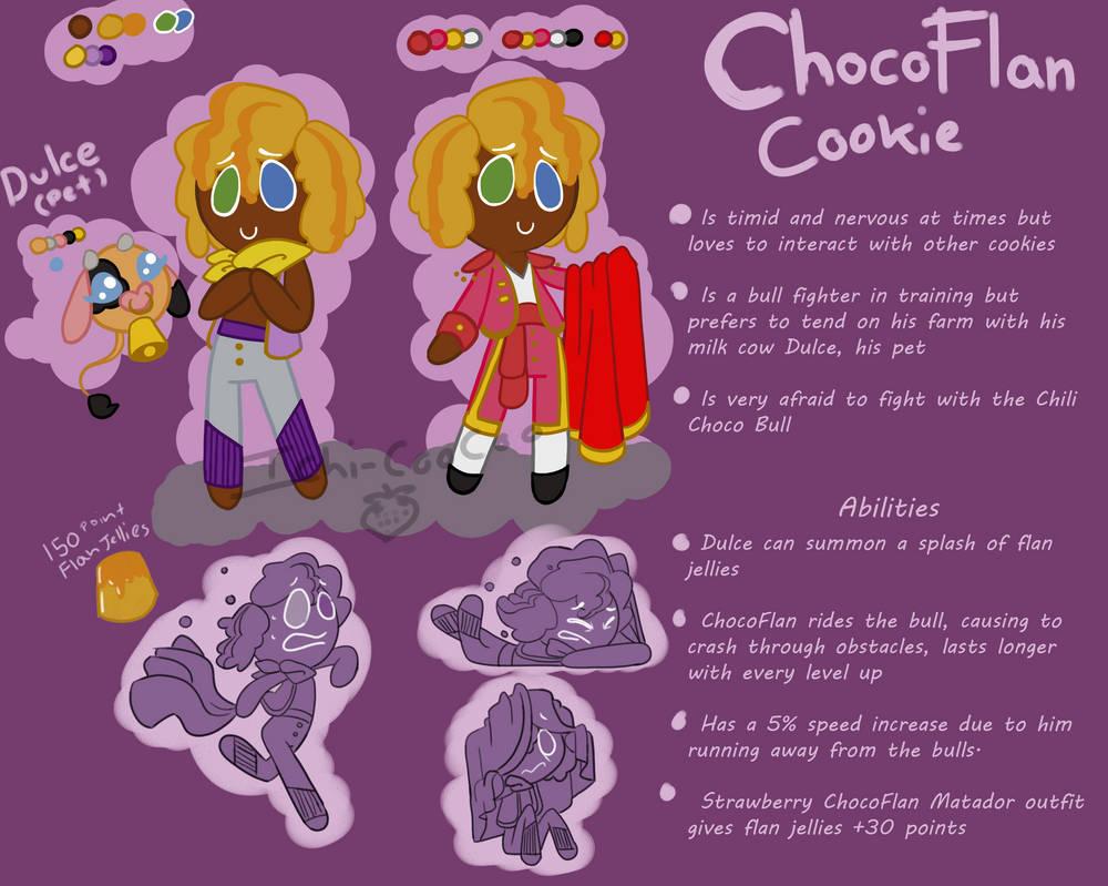 ChocoFlan cookie sheet by Ichi-CooCoo