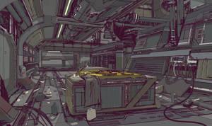 Loading Area by ElijahMcNeal