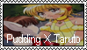 Stamp: Pudding X Taruto fan by LadyRebeccaStamps