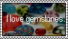 Gemstones stamp by LadyRebeccaStamps