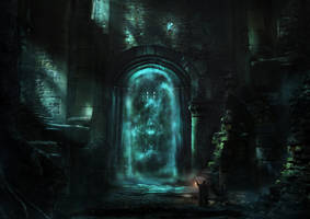 Fog Gate by Graknaz