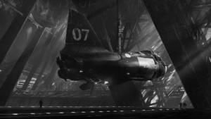 Ship Hangar by Graknaz