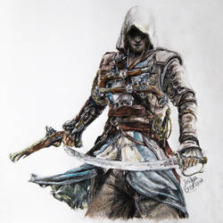 Assassins Creed Black Flag by SuperImki