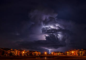 Halloween Lightning by PaigeBurress