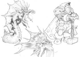 WoW Sketches by jpm1023