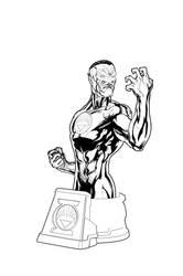 Green Lantern Blackest Night Sinestro White! by jpm1023