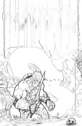 He Man Serpent Falls by jpm1023